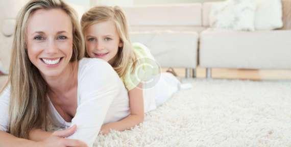 White Carpet and Kids Do Mix